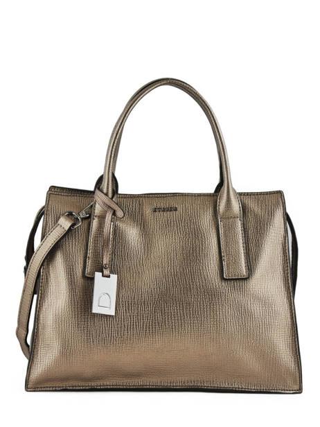 Top Handle Tess Leather Etrier Green tess ETESS02