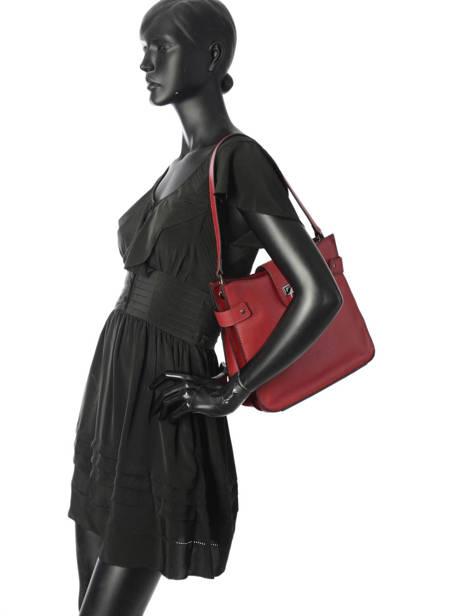 Shoulder Bag Tess Leather Etrier Black tess ETESS08 other view 2