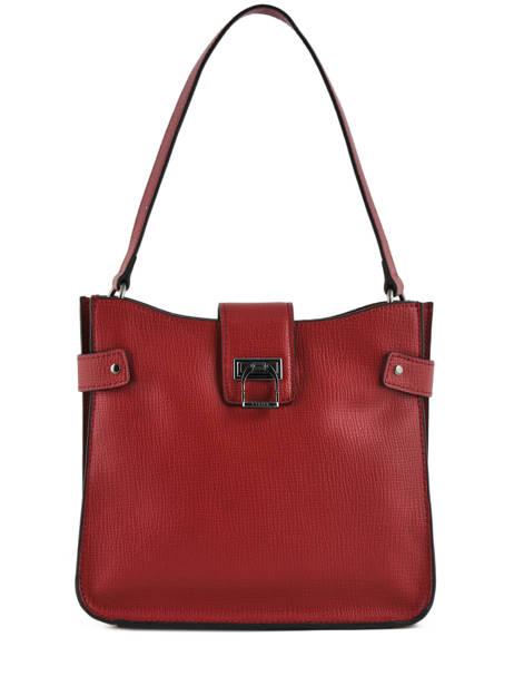 Shoulder Bag Tess Leather Etrier Black tess ETESS08