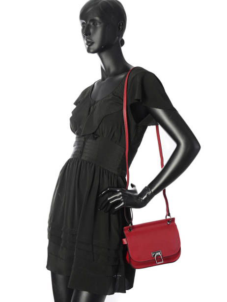 Shoulder Bag Tess Leather Etrier Black tess ETESS10 other view 2