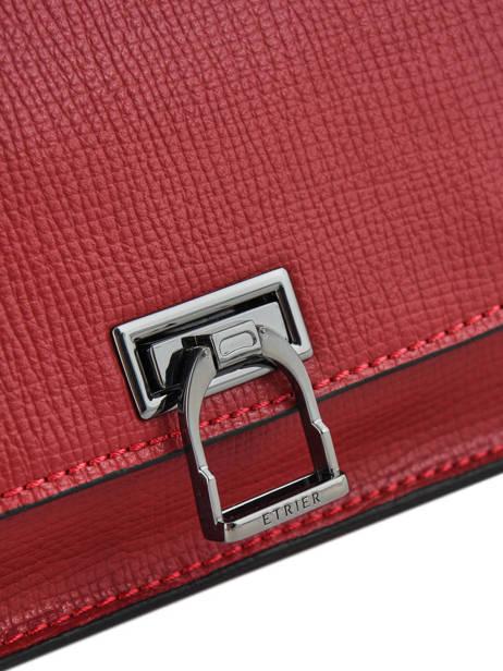 Shoulder Bag Tess Leather Etrier Black tess ETESS10 other view 1