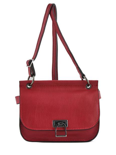 Shoulder Bag Tess Leather Etrier Black tess ETESS10