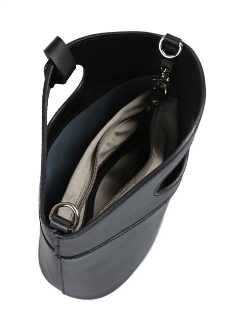 Shoulder Bag Kyo Leather Etrier Black kyo EKY607 other view 4