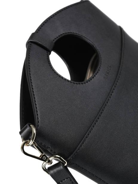 Shoulder Bag Kyo Leather Etrier Black kyo EKY607 other view 1