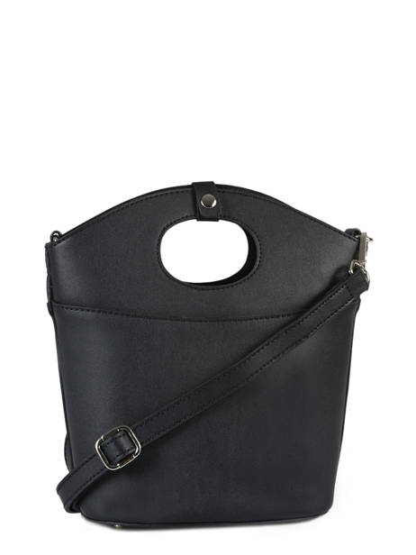 Shoulder Bag Kyo Leather Etrier Black kyo EKY607 other view 3