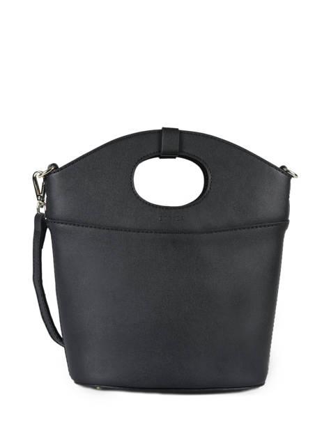 Shoulder Bag Kyo Leather Etrier Black kyo EKY607