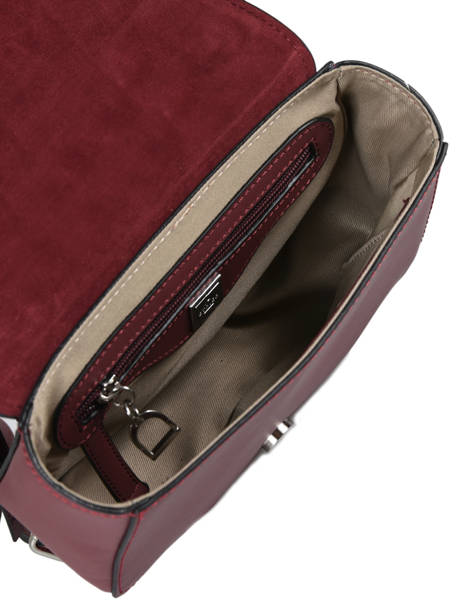 Shoulder Bag Caleche Leather Etrier Red caleche ECAL012B other view 4