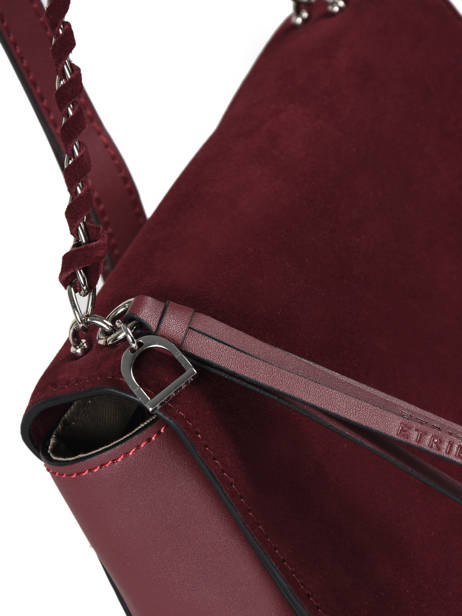 Shoulder Bag Caleche Leather Etrier Red caleche ECAL012B other view 1