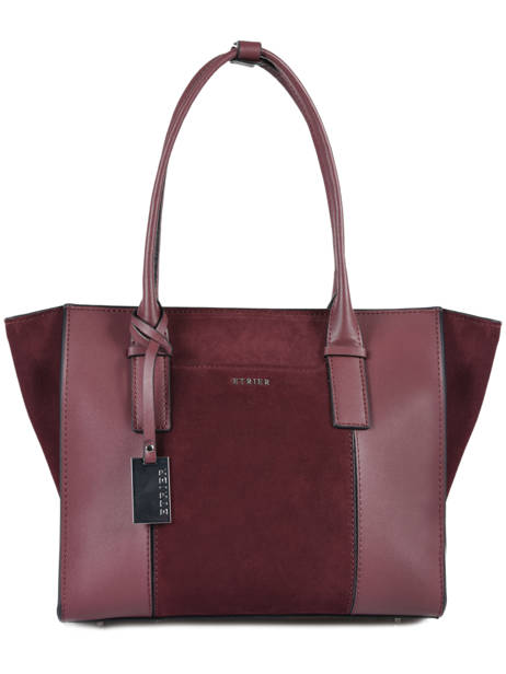 Shopper Caleche Leather Etrier Red caleche ECAL003B
