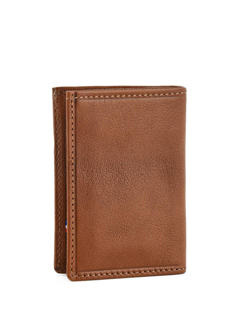 Card Holder Leather Etrier Brown sabot 800013 other view 1