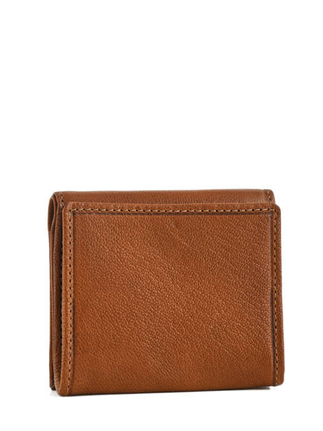 Small Leather Wallet Etrier Brown sabot 800096 other view 1