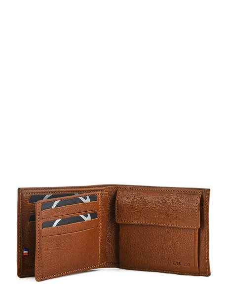 Wallet Leather Etrier Brown sabot 800121 other view 3