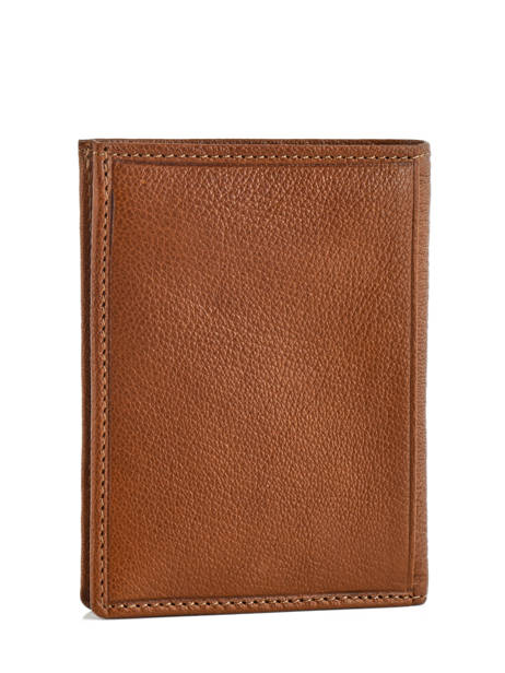 Wallet Leather Etrier Brown sabot 800149 other view 1