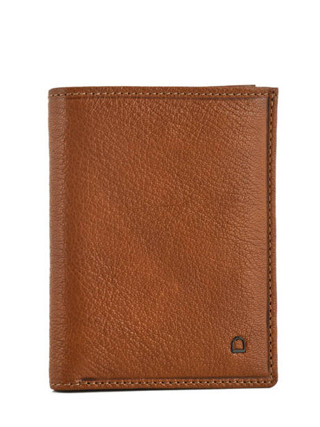 Wallet Leather Etrier Brown sabot 800149