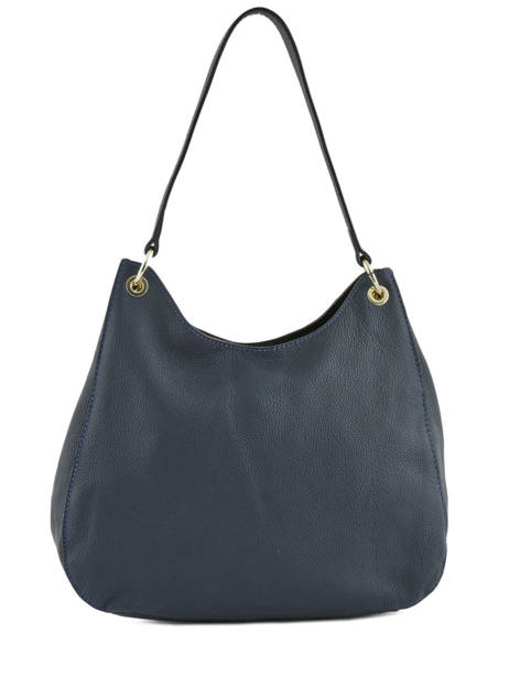 Hobo Bag Tradition Leather Etrier Blue tradition EHER021 other view 4