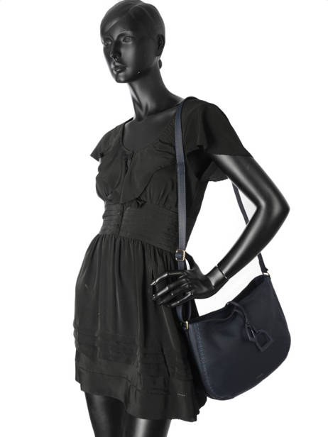 Crossbody Bag Tradition Leather Etrier Black tradition EHER002A other view 2