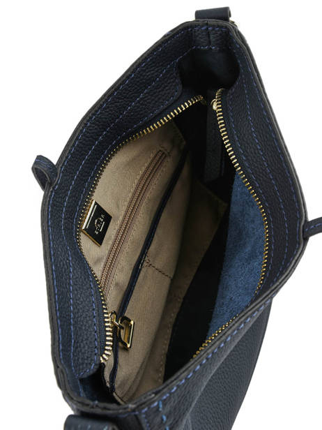 Crossbody Bag Tradition Leather Etrier Blue tradition EHER003A other view 4
