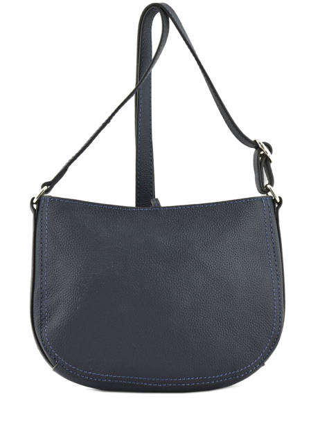 Crossbody Bag Tradition Leather Etrier Blue tradition EHER003A other view 3