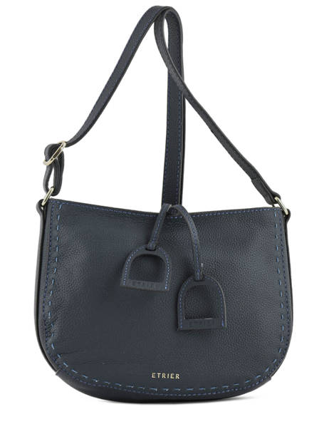 Crossbody Bag Tradition Leather Etrier Blue tradition EHER003A