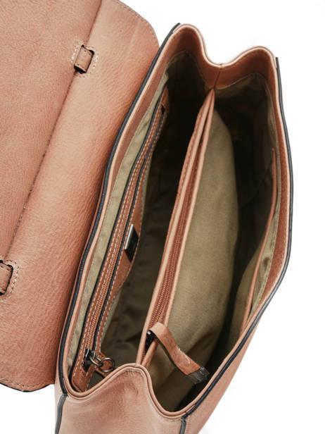 Shoulder Bag Casac Leather Etrier Pink casac ECAS01 other view 5