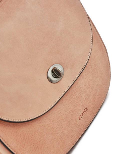 Shoulder Bag Casac Leather Etrier Pink casac ECAS01 other view 1