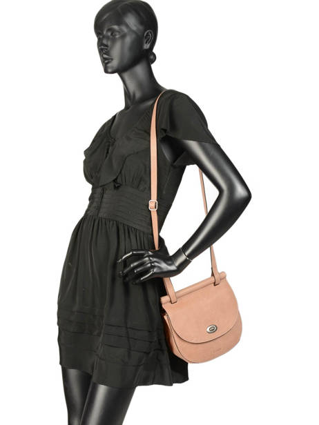 Shoulder Bag Casac Leather Etrier Pink casac ECAS02 other view 2
