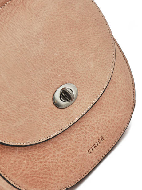 Shoulder Bag Casac Leather Etrier Pink casac ECAS02 other view 1