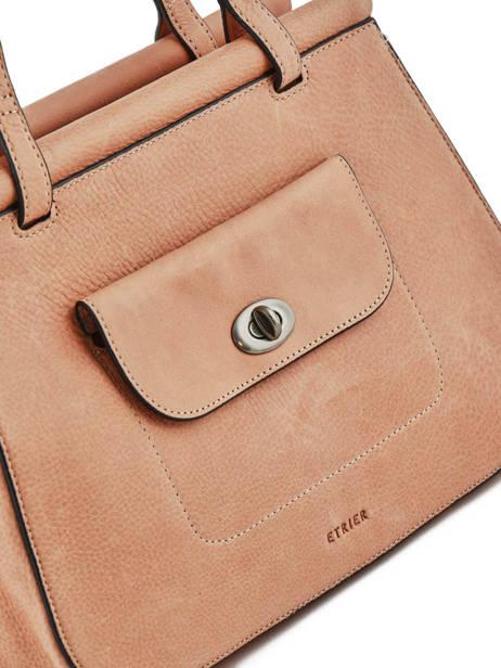 Shopper Casac Leather Etrier Pink casac ECAS04 other view 1