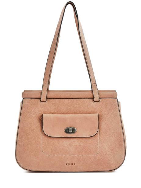 Shopper Casac Leather Etrier Pink casac ECAS04