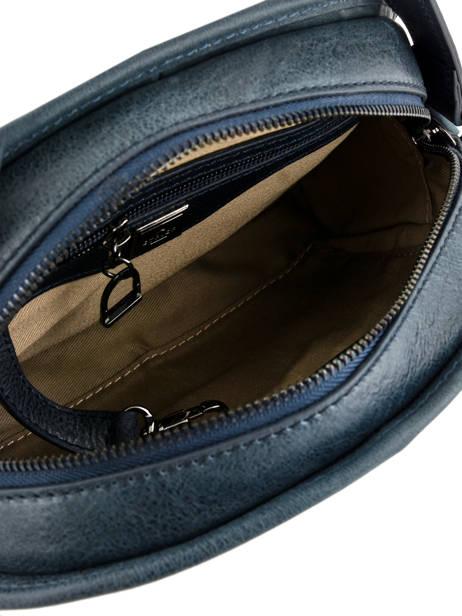 Shoulder Bag Galop Leather Etrier Blue galop EGAL01 other view 4