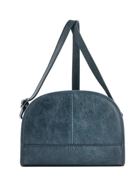 Shoulder Bag Galop Leather Etrier Blue galop EGAL01