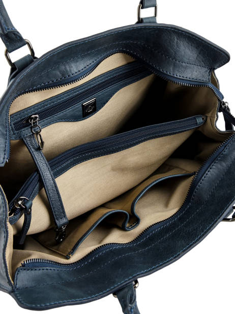 Shopper Galop Leather Etrier Blue galop EGAL04 other view 5