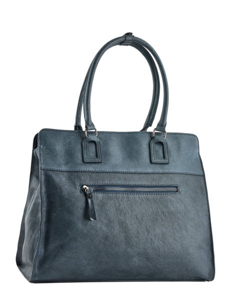 Shopper Galop Leather Etrier Blue galop EGAL04 other view 4