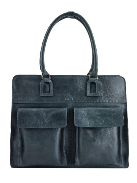 Shopper Galop Leather Etrier Blue galop EGAL04