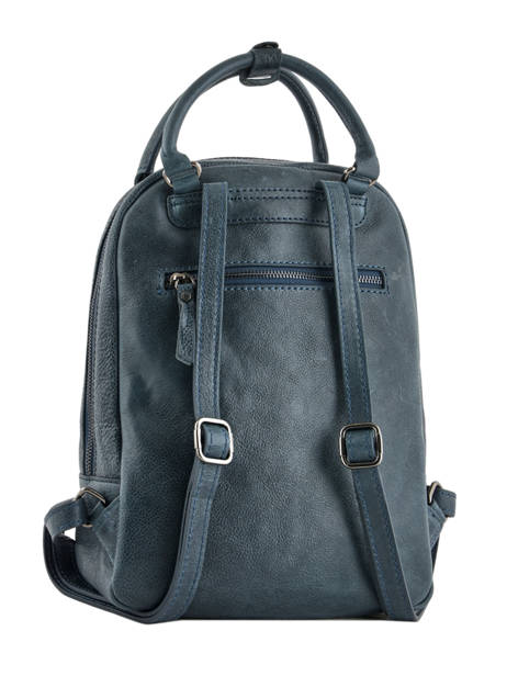 Backpack Etrier Blue galop EGAL06 other view 4
