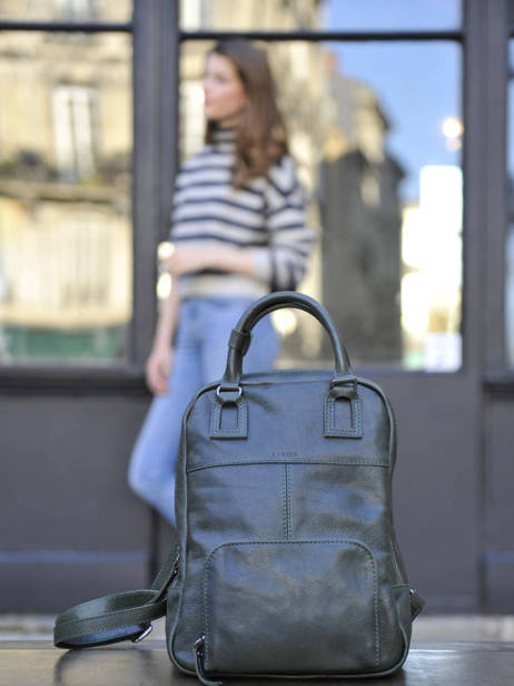 Backpack Etrier Blue galop EGAL06 other view 3