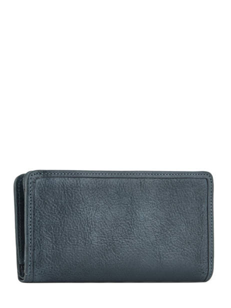 Wallet Leather Etrier Blue galop EGAL906 other view 2