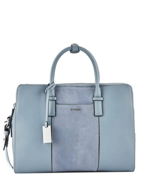 Briefcase Etrier Blue caleche ECAL915