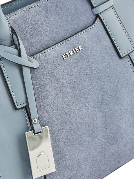 Trapeze Caleche Leather Etrier Blue caleche ECAL002B other view 1