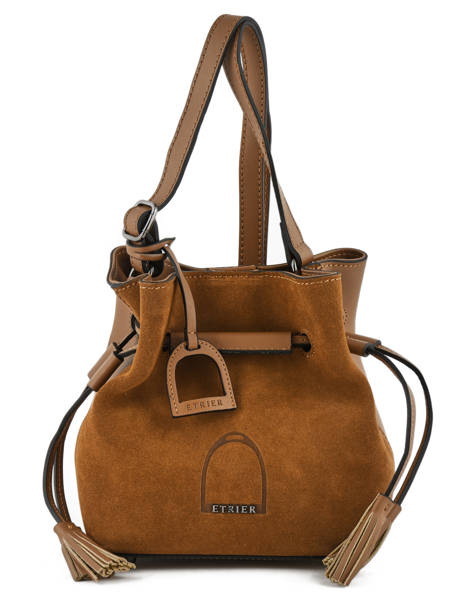 Sac Bourse Jockey Etrier Marron jockey EJOC07