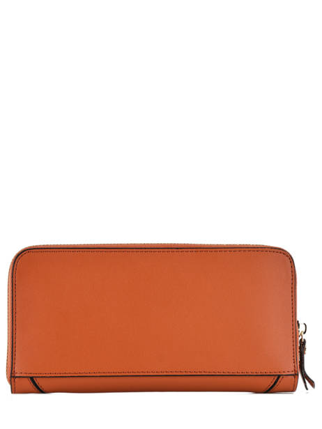 Wallet Leather Etrier Orange kyo EKY901 other view 1