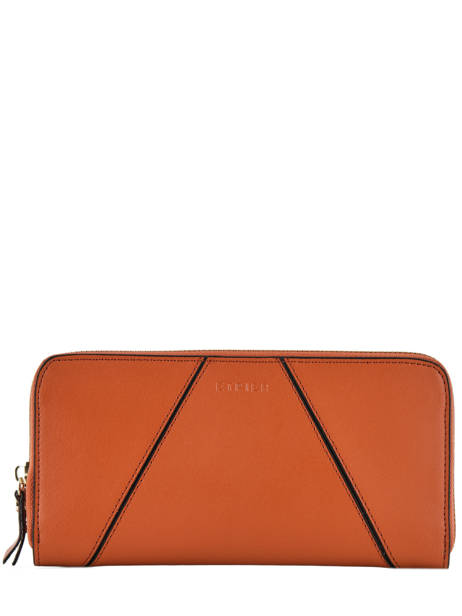 Wallet Leather Etrier Orange kyo EKY901