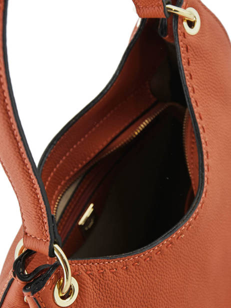 Sac Besace Tradition Cuir Etrier Orange tradition EHER21 vue secondaire 4