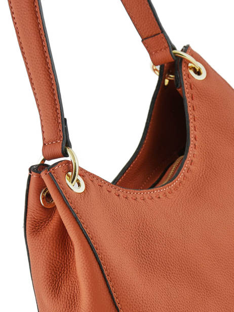 Sac Besace Tradition Cuir Etrier Orange tradition EHER21 vue secondaire 1