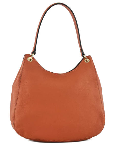 Sac Besace Tradition Cuir Etrier Orange tradition EHER21 vue secondaire 3