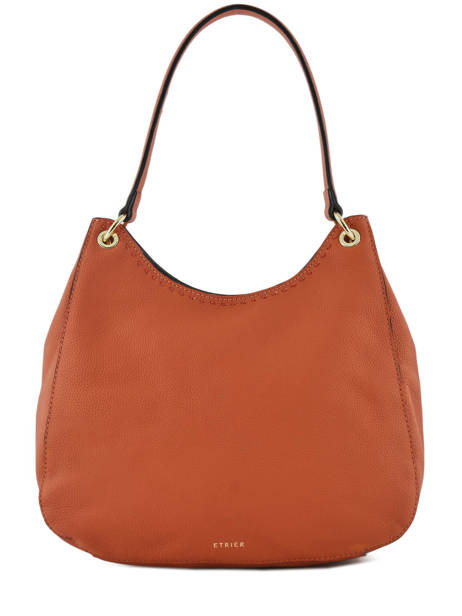 Sac Besace Tradition Cuir Etrier Orange tradition EHER21