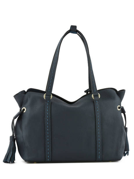Sac Shopping Tradition Cuir Etrier Bleu tradition EHER25 vue secondaire 4