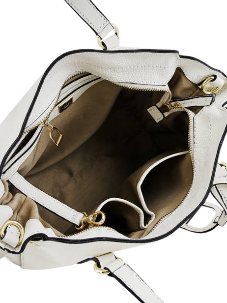 Leather Tradition Satchel Etrier White tradition EHER24 other view 5