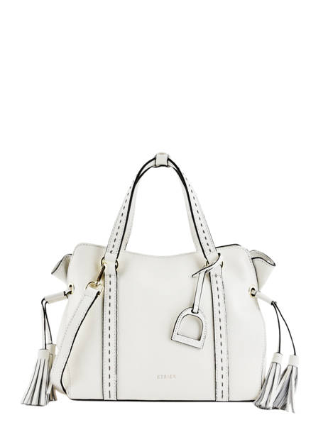 Leather Tradition Satchel Etrier White tradition EHER24