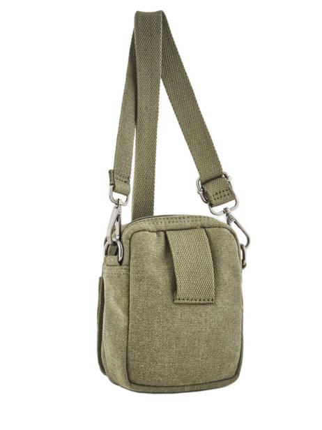 Crossbody Bag Etrier Green canvas ECAN04 other view 3